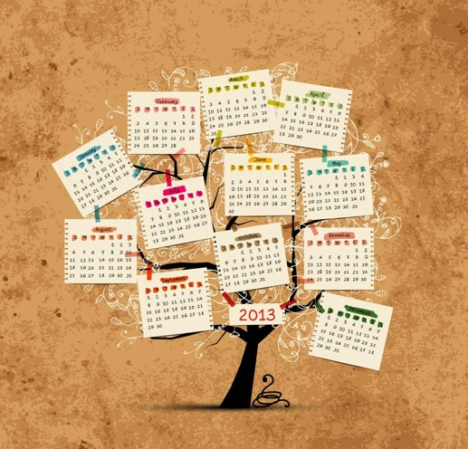 Calendar tree