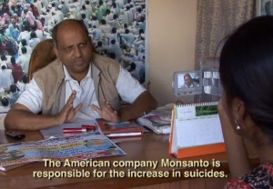 Monsanto responsible for Indian farmer suicides