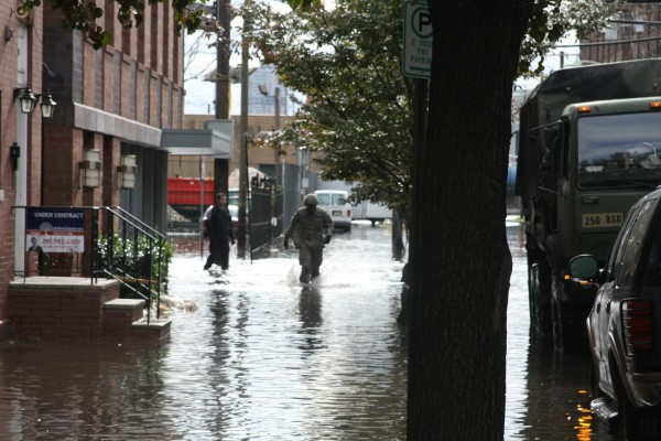 Sandy impact
