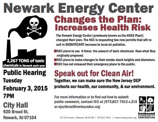 NEC Hearing flyer