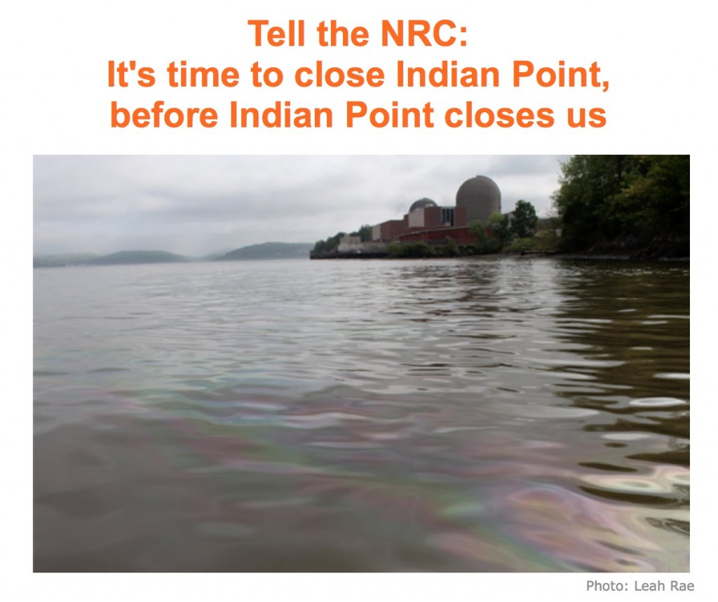 Indian Point may kill us