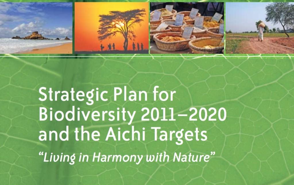 Biodiversity Plan & Aichi Targets