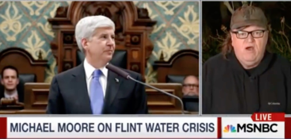 Michael Moore on Snyder & Flint Water Crisis