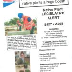 Native Plant legislative alert