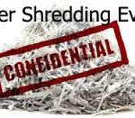shred confidential papers