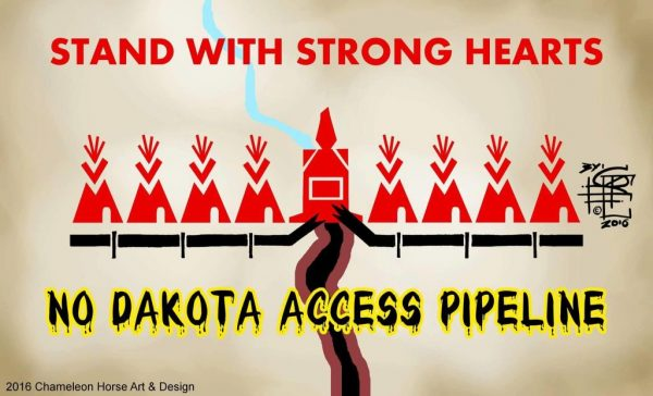 Stand Strong Against DAPL graphic